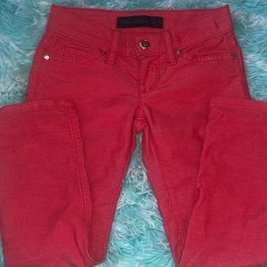 JUICY COUTURE Skinny Corduroy Looking Cotton Pants